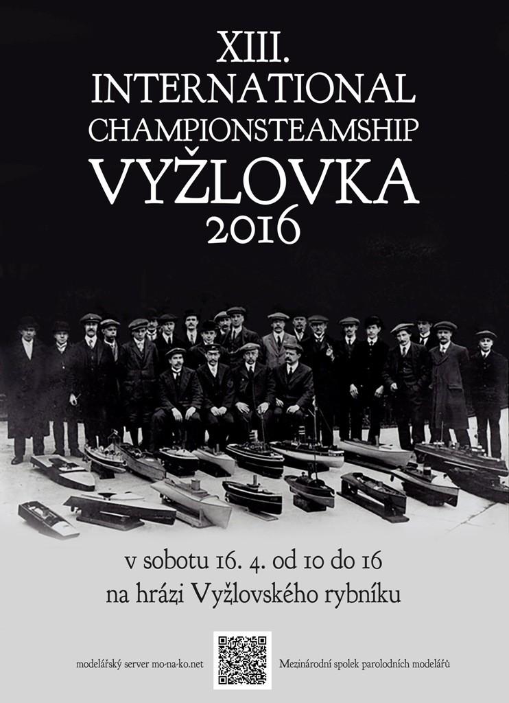 Parní Vyžlovka 2016 - plakát